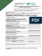 Formulario de avaliação
