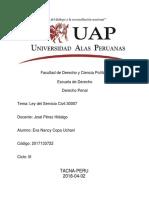 Monografía de La Ley Servir 30057 V