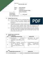 Kisi Kisi SOAL UAS Kelas 6 SD Tema 2 (Rppsdkurtilasku)