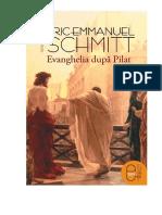 Eric-Emmanuel Schmitt - Evanghelia După Pilat