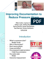 quality improvement - reduce pressure ulcers