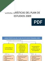 Características Del Plan de Estudios 2009