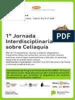 """Primera jornada interdisciplinaria de celiaquía en Berisso que propone """"buscar el celiaco oculto"""""""