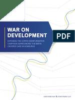 War on Development