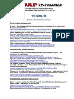 Webgrafía Análisis e Interpretaciónde Textos