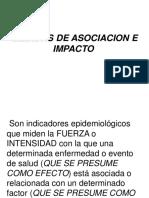 Medidas de Asociacion epidemiología