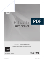 Samsung Referigerator User Manual