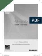 Samsung Referigerator User Manual