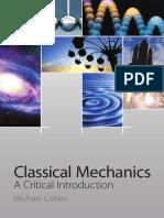 Classical Mechanics- Cohen