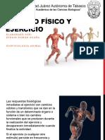 Trabajo y Ejercicio Físico