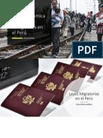 Situación Socioeconómica de Los Inmigrantes en El Perú