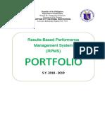 Portfolio Rpms