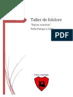 Taller de Folclore 2017 Proyecto