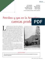Petróleo y gas. Cuencas