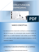 REESTRUCTURACIÓN EMPRESARIAL (1)
