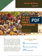 Dossier Día Mundial de la Alimentación 2010