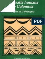 ROMERO, María Et. Al (1993). Geografía Humana de Colombia (Tomo III. Vol. I)