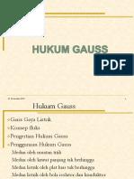 4.Hukum Gauss