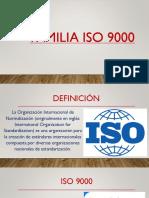 ISOS Calidad, Tema 1