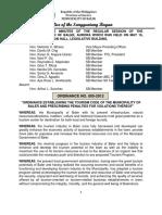 Lgu-baler Ordinance No 005-2012(1)