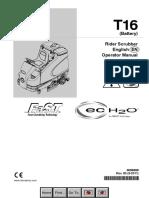 T16 English Operator Manual