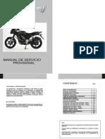 Manual de servicio Pulsar 180