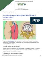 Para Desinflamar El Nervio Ciatico