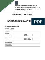 Estructura Clase Modelo CNEB
