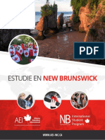 Study in NB Brochure Spanish