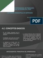 Exposicion Autonoma Activacion Conductual