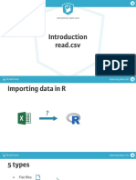 Importing Data in r 1 Ch1