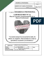 Lab. Calif. 03 Proyecto de Posicionamiento