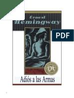 Hemingway, Ernest - Adis a las Armas.pdf