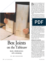 Box Joints on the Table Saws