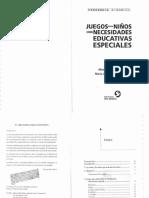 Montes Ayala, M. - Juegos para niños con necesidades especiales.pdf