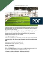 Harga Pengecatan Lapangan Futsal