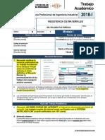 Epii-ta-6- Resistencia de Materiales - 2018-1 Modulo 1- Sección 1
