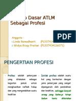 Konsep Dasar ATLM Sebagi Profesi