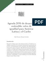 Agenda 2030 de Desarrollo Sostenible Ret