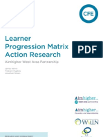 Business Link - Learner Progression Matrix Action Research