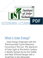 Institute of Solar Technology Kotdwara