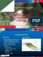 Erosion and Sedimentation Control Workshop