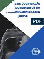 MCPO Manual de Codificação de Procedimentos Otorrino