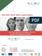 Cqi Irca Qms Lead Auditor