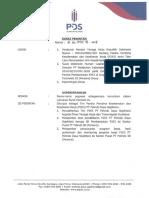 Surat Perintah Penyusunan P2K3 PT Pelindo Daya Sejahtera