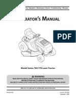 Yard-Man Mower 42 Inch Manual