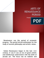 Arts of Renaissance Period