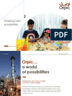 Orpic Polymer Marketing Corporate Brochure