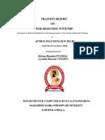Online Exam System ``Report