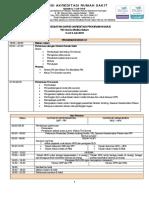 Jadwal Survei Akreditasi SNARS Edisi 1 Program Khusus RS Charis Medika
